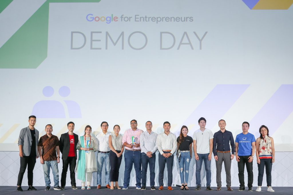 Google Demo Day Asia finishers